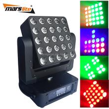 Popular sales!!! 25pcs * 12w RGBW 4in1 led matrix/beam moving head