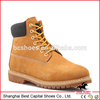 6 Inches Military Boots Split Embossed Leather Rubber Outsole Goodyear Process Army Boots BC-G001
