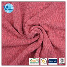 TR Imitate Wool Computer Jacquard Fabric for Bag, Dress, Garment