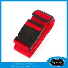 Custom elastic rubber luggage tags straps with metal buckle
