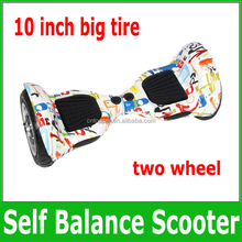 Newest 10 inch big tire mini smart self balance scooter electric airboard smart balance board drift loaded skateboards