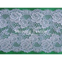 16-20 cm de nylon con spandex elástico encajes y puntillas para lencería