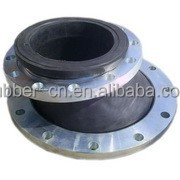 Eccentric reducer rubber joint