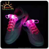 Battery operated shoe light led Shoelace 2015