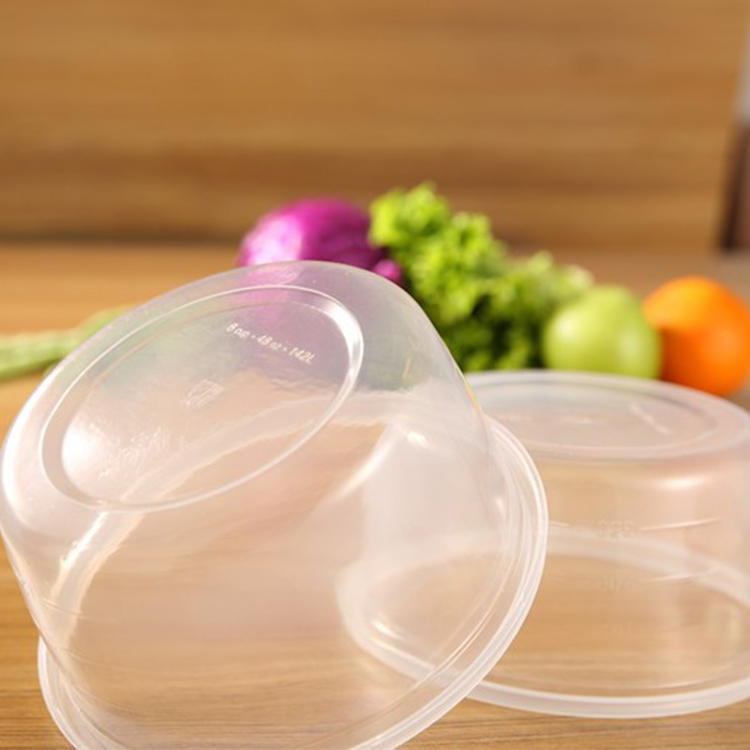 Sıcak Satış Ucuz Özel OEM Tasarım Tek Kullanımlık Plastik Tatlı Ambalaj Çevre Dostu Öğle Konteynerler