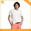 White Polo Shirt, Zipper Collar Polo Shirt, Classic Collar Men Polo Shirt