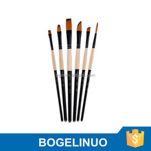 (New) 523 Fine Watercolor Nylon Artist Brush Set 6-pcs