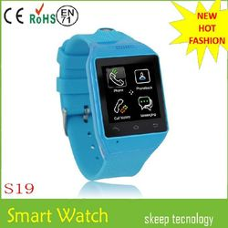 New fashion Smart Watch Phone, Watch Mobile Phones,bluetooth watch with IOS and android watch phone