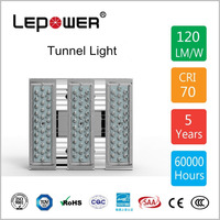 Newest 30-300w tunnel light outdoor IP66 street parking stadium projection lighting led tunnel light