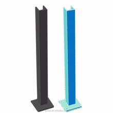 U channel concrete Glass balustrade fence posts