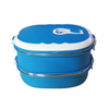two layer stainless steel food container lunch box