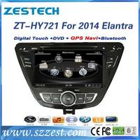 car parts for hyundai elantra 2013 touch screen dvd gps /auto/3G/steering wheel ZT-HY721