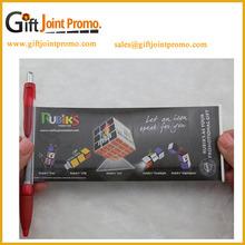 Promotional Product Advertising Custom Banner Flag Ball Pens