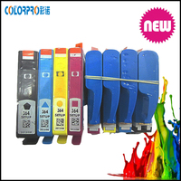 For hp inkjet 364 Original printer ink cartridge for HP 364 setup