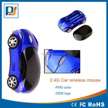 2.4G 3D Car Shape Wireless Optical Mouse for microft window Mice + USB Receiver for Laptop PC