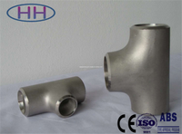PED & ISO ANSI B16.9 Stainless Steel Tee/BW SS 316L Tee