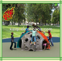 Outdoor placstic playground Climber ,Kaiqi Best price than ever