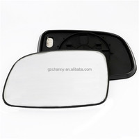 Audew 2015 New Left LHS Passenger Side Heated Wing Door Mirror Glass For Jeep Grand Cherokee WJ