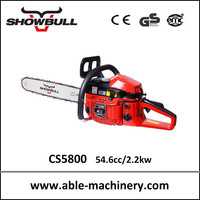 Big power chain saws with 54.6cc