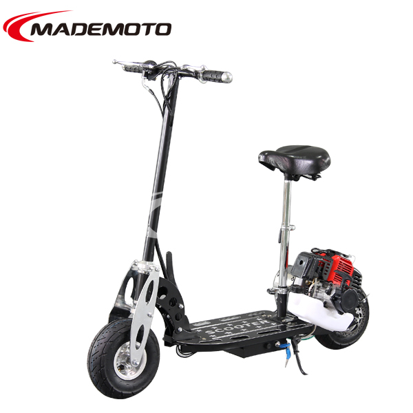 Disc Hand Brake Folding Gas Motor Scooters W Off Road