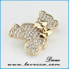 Lovely brooch design for bag decor,lovely brooch design for lady,gold brooch use for hat decor