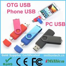 Dual OTG Micro USB & USB 2.0 Flash Drive Thumb Drive for Android Smart Phone Tablet PC