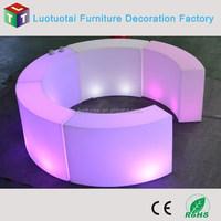 LED bar furniture led snake shape bar counter