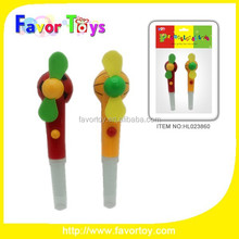 2015 Wholesale Handheld Fan Plastic Kid Candy Toy Promotion gift for sales.