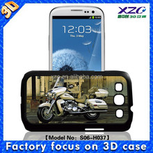 High quality wholesale 3D cell phone case for Samsung i9300 with 3D motorbike 103