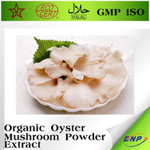 healthy food oyster mushroom powder extract