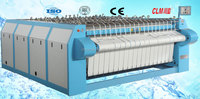 industrial equipment for ironing hotel sheets