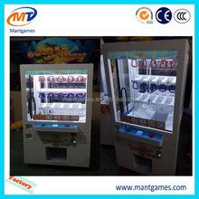 Fruit ninja prize machine/hot sale mini key master/coin operated claw toy crane machine