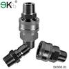 fuel quick connector/hydraulic stainless steel quick coupling