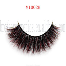 Mink Strips False Eyelashes Mixed Colored for Daily Life