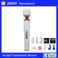 White 10 speed rechargeable japan sex toy, male female sex toy
