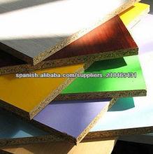 tableros de partículas de melamina / aglomerado