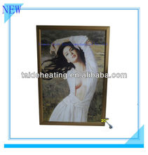 Beautiful carbon fiber electric heating painting