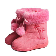 cheap new style anti silp snow boots for kids