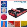 cnc garment cloth craft acrylic leather iphone 80w co2 fabric laser cutting machine with servo motor