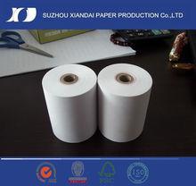 2013 hot sale 57mm*50mm receipt till thermal rolls suits cash registers china manufacturer