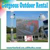 ultra slim light weight rental advertisting led display P4.81 led panel led sign led billboard led board