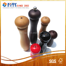 Small Wooden Pepper Mill of Different Sizes from Factory Supply
