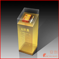 2014 new xxx images led display flash high quality acrylic light box advertising light boxes_pop up wall display