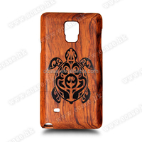 Comstom Beautiful Design Wood Cell two parts Case for Samsung cover for Samsung s5