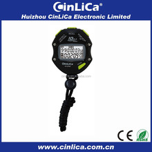 mini pocket stopwatch large two-line LCD display stopwatch
