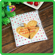 Yiwu China printed self-sealing cello bags for cookies