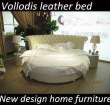 2015 king size leather round bed for sale