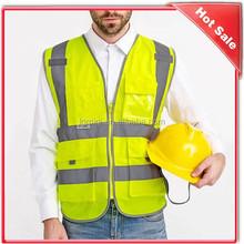 High Visibility Ployester police Reflective Safety Vest