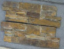 slate manufacturer offer stacked slate veneer