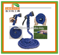 75Ft Flexible 3X Expandable Garden Magic Water Hose Pipe + Multifunctional Spray Nozzle Green